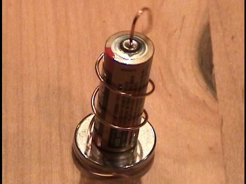 Simplest Electric Motor