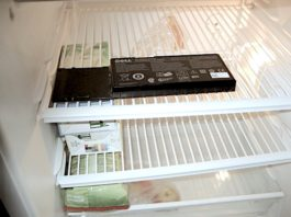 Batteries in the Freezer