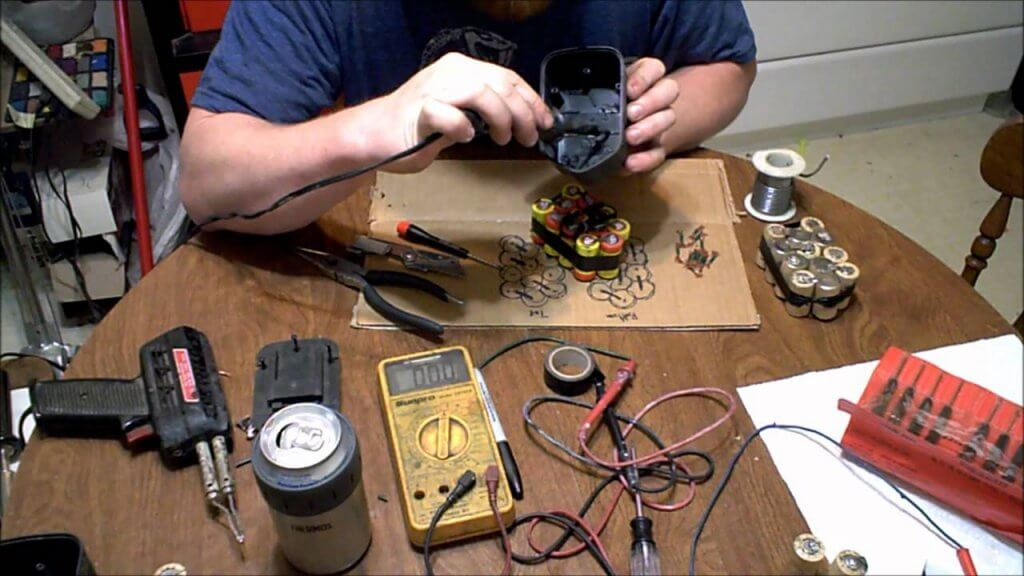 How to restore the screwdriver battery and its capacity? Screwdriver battery replacement in 2020