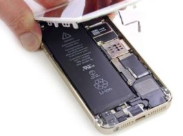 How to easily replace the battery for iPhone 5