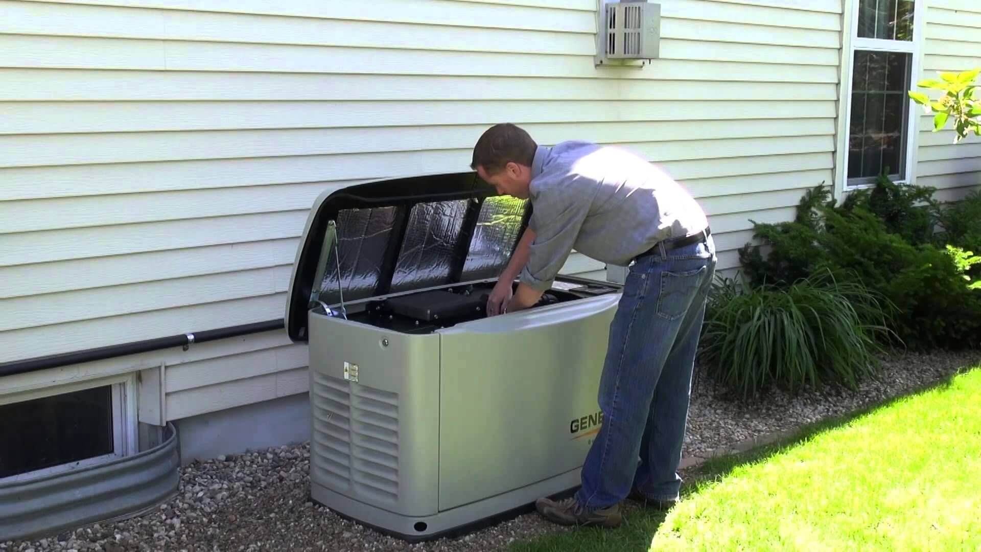 Generac Power Generator Review Best Standby And Portable To House Wiring Likewise How Hook Up Maintenance