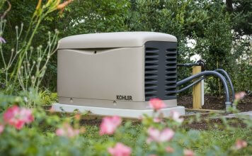 Standby generator for home