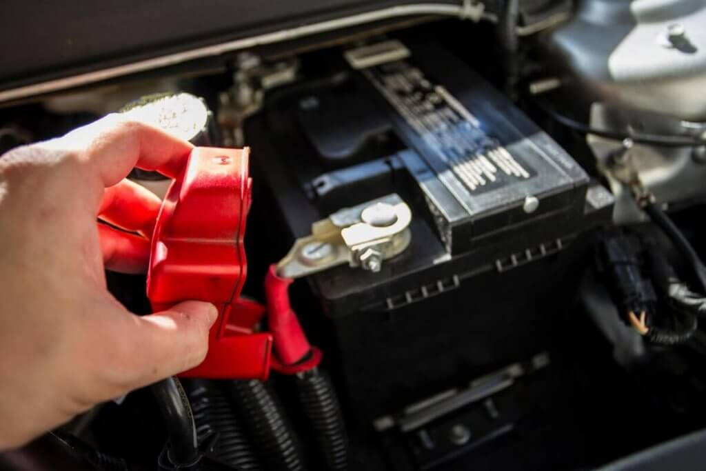Car battery replace