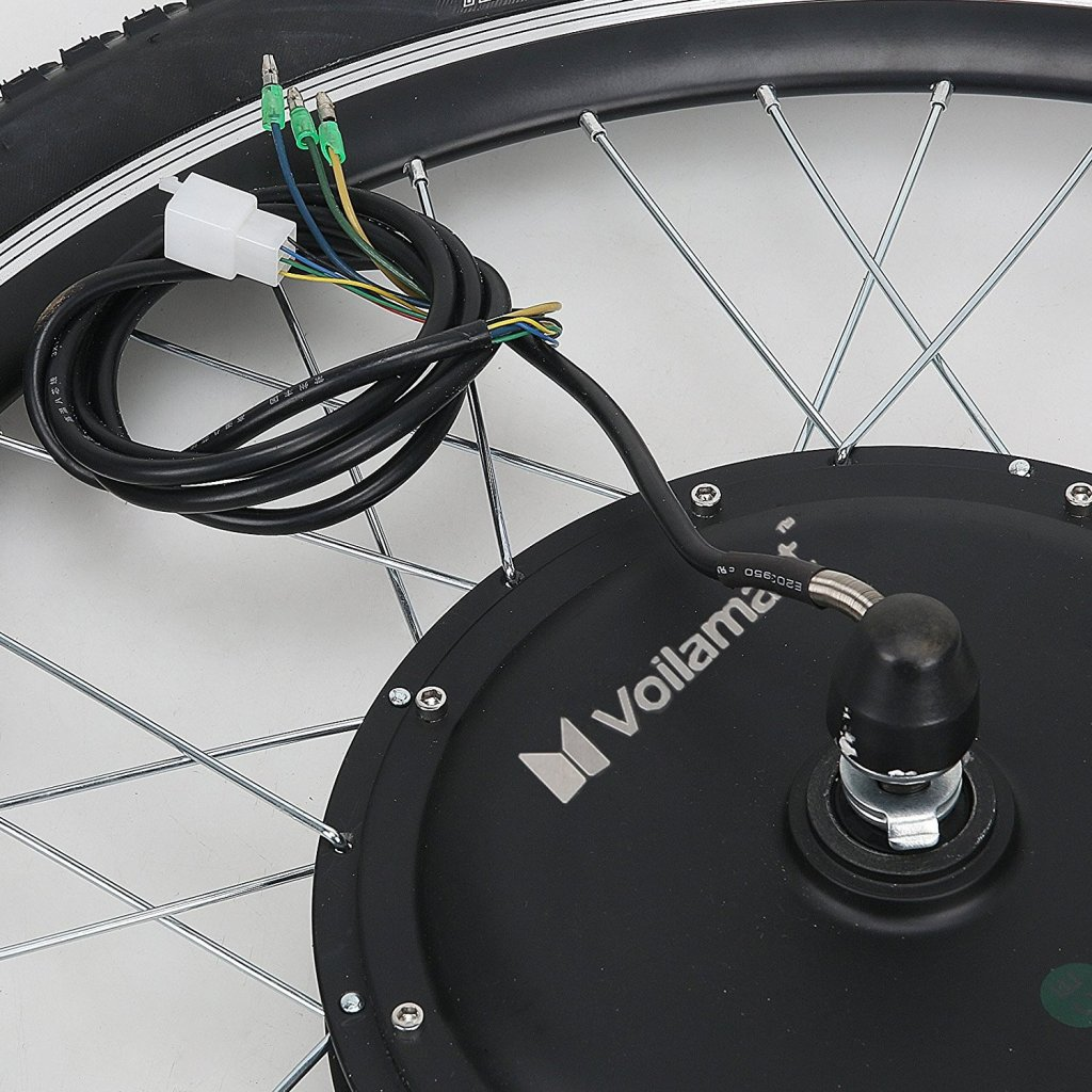 Roue de vélo électrique
