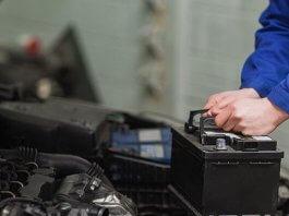 Car Battery Installation
