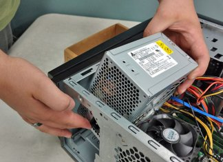 Replace power supply